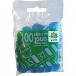 50 sachets de 100 pions de marquage pour loto