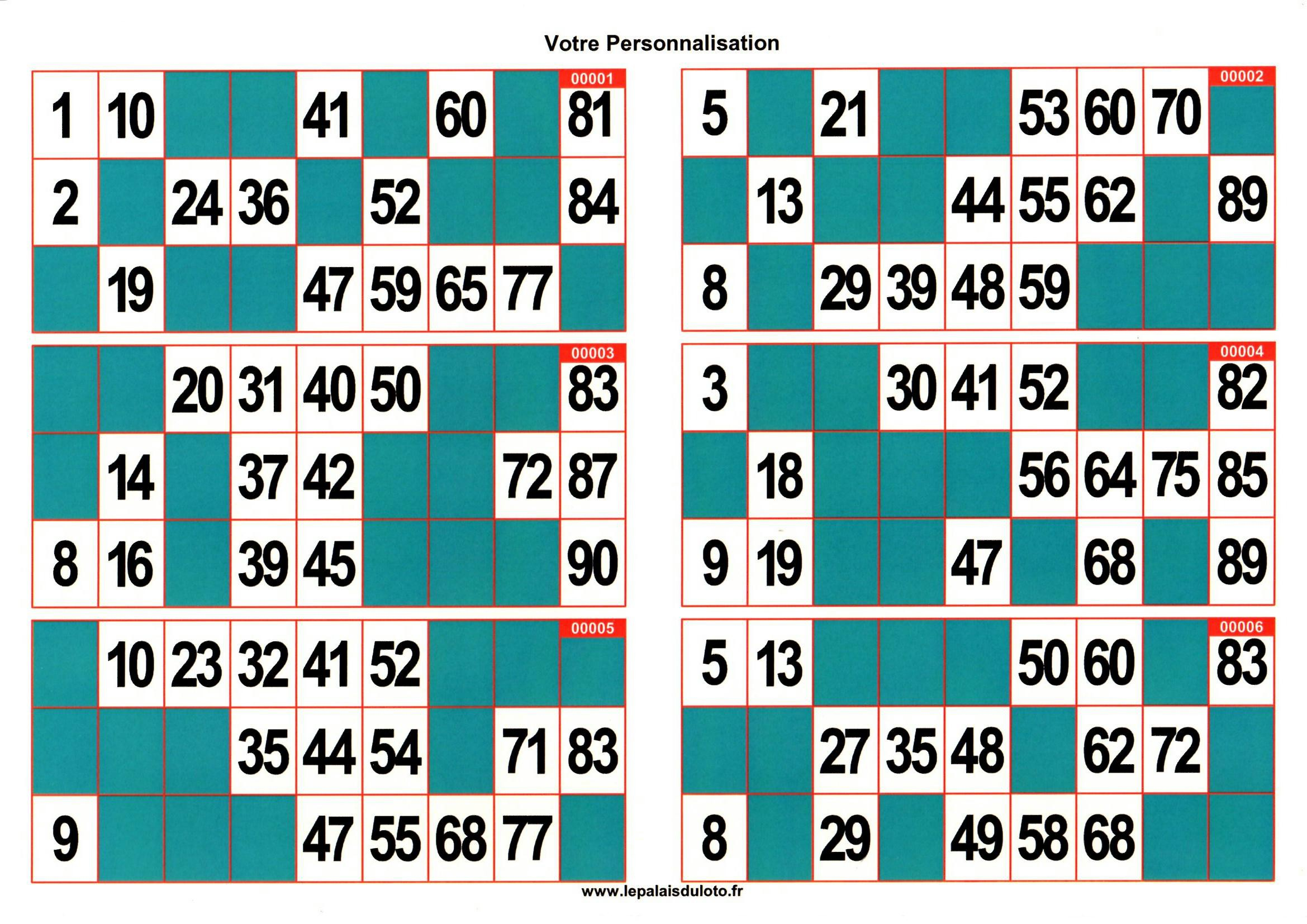 Carton loto bingo imprimer gratuit - Grille de bingo a imprimer gratuit ...