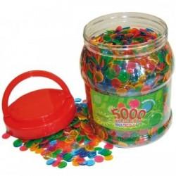 Boîte de 5000 pions Ø 15 mm