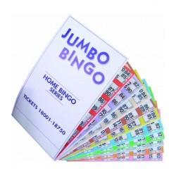 Carnet de 125 feuilles de loto  junbo bingo