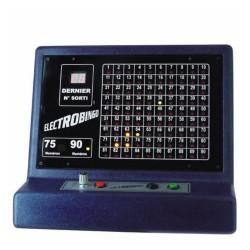 L'électrobingo, le tirage de loto électronique au Palais du Loto.