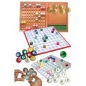 Balles, boules et plateaux pour loto