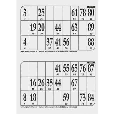 500 Plaques De 2 Cartons De Loto Pour Votre Loto Au Palais Du Loto